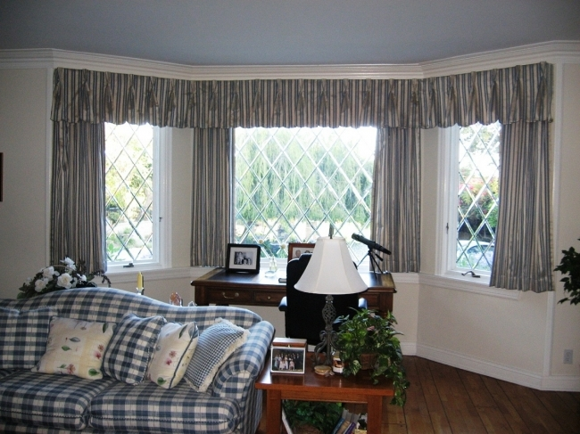 Sensational Contemporary Window Treatments For Bay Windows Best Decorating Ideas Image