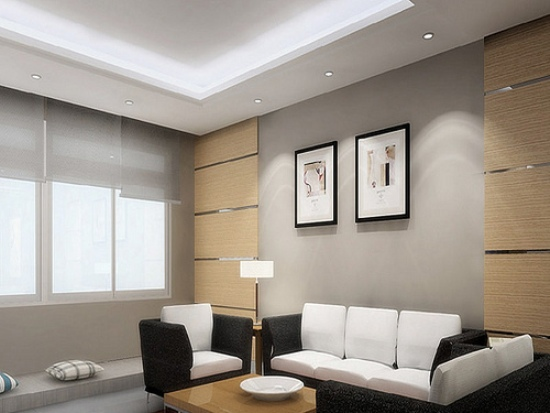 Best Interior Painting Ideas Grey and White Living Room Art Pictures 02