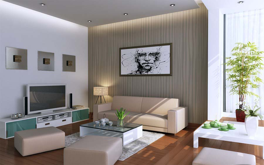 Modern interior paint design ideas for living rooms great color scheme minimalist home photos 024