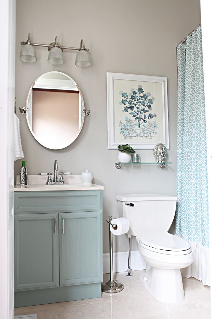 Nice Small Bathroom Renovations for Small Space