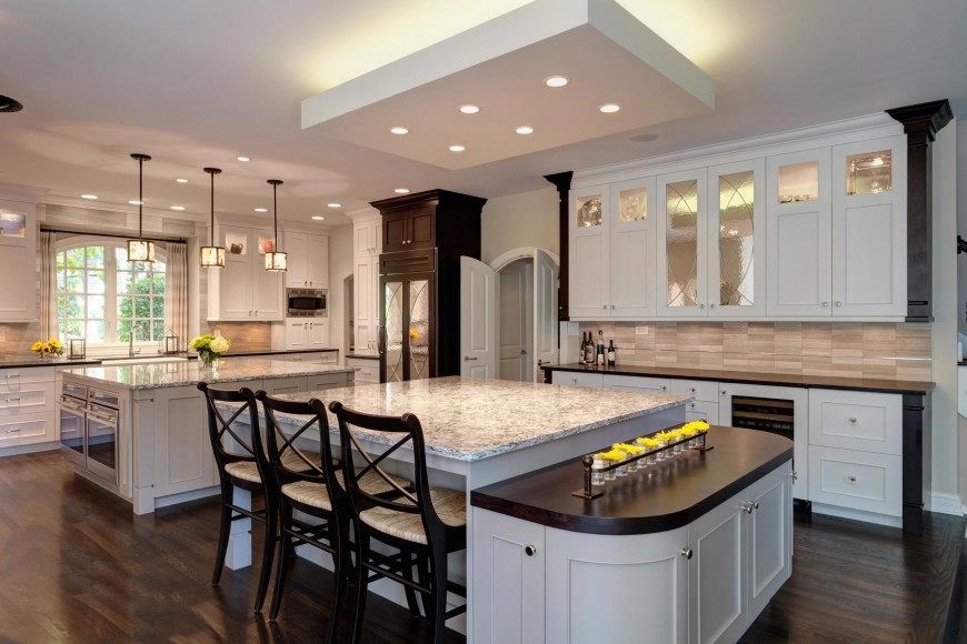 Large Custom Luxury Kitchen Designs