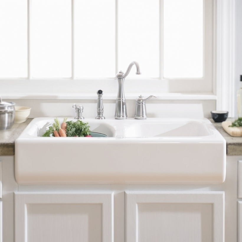 Awesome Drop In Farmhouse Sink Apron Sink Kitchen Pic