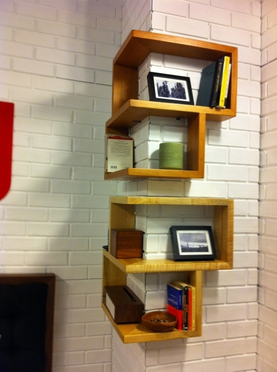 Awesome Floating Rustic Corner Shelving Unit Wooden Furniture Decorating Bookshelves Rustic Shelving Units Pictures