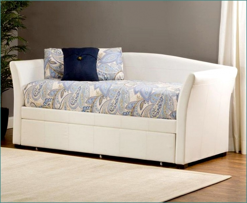 Cozy Daybed Mattress Cover Regarding Upholstered Design Images