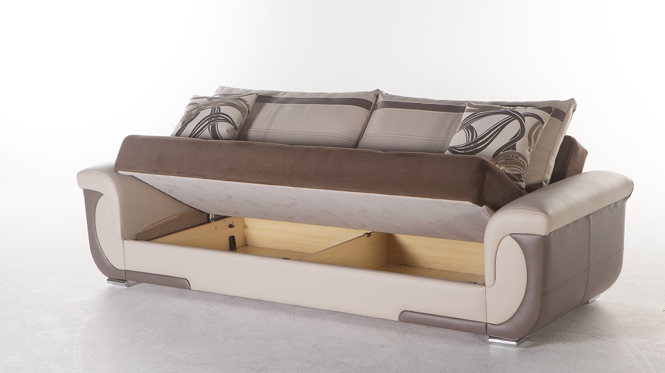 Fantastic Sofa Sleeper With Storage Inside Modern Lima S Sofa Bed