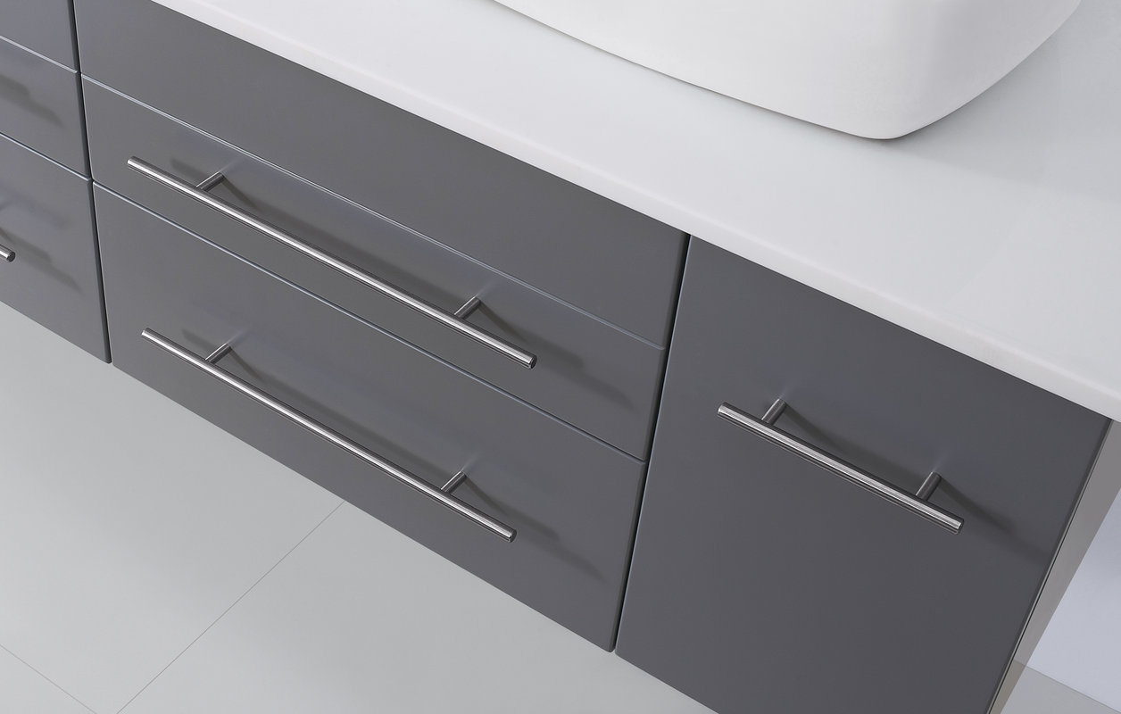 Faucet Grey Virtu Usa Close Up Pertaining To Cabinet Hardware Placement Assembly