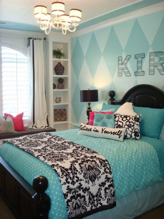 Great Tiffany Blue Paint Color With Regard To Teen Girls Bedrooms Design Pics