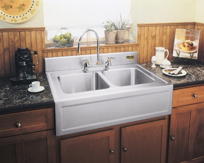 Outstanding Drop In Farmhouse Sinks For Kitchens Modern Design Pictures