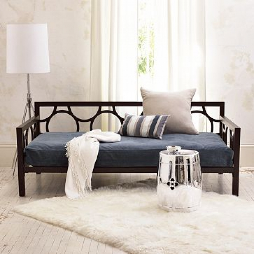Stylish Daybed Mattress Cover Regarding Daybed Austin Interior Design Room Photos