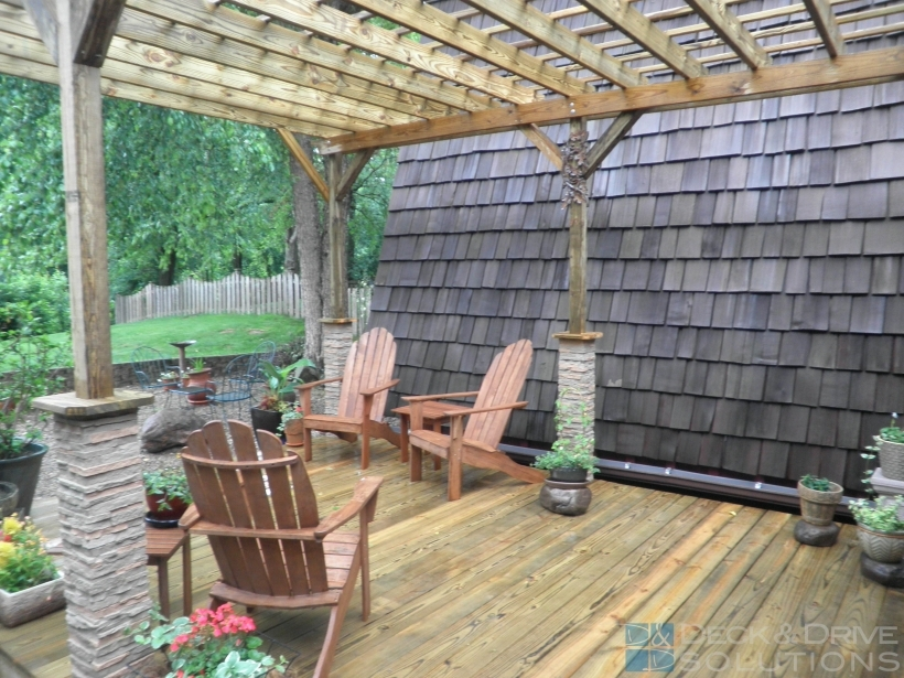 Stylish Pergola Front Porch Deck And Drive Solutions Pictures