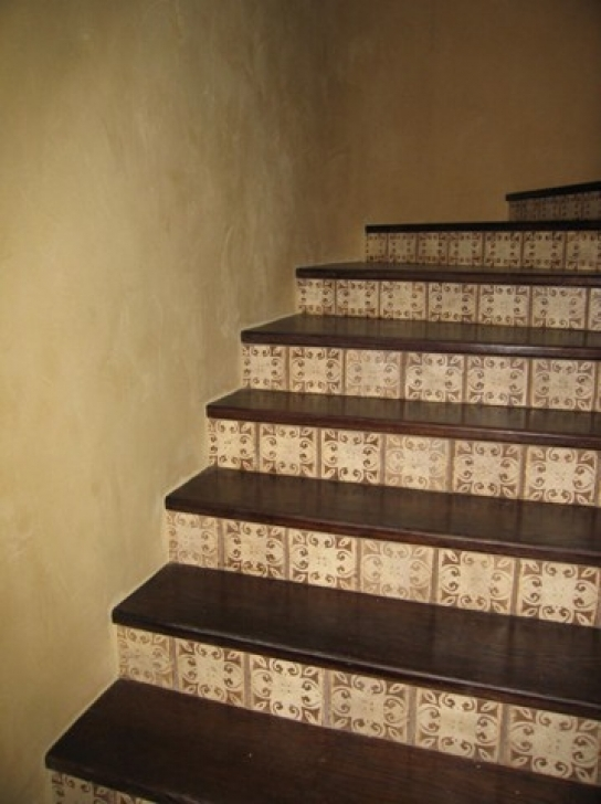 Tile Stair Risers Design Ideas For Stellar Stairs Splendid Stone Pictures