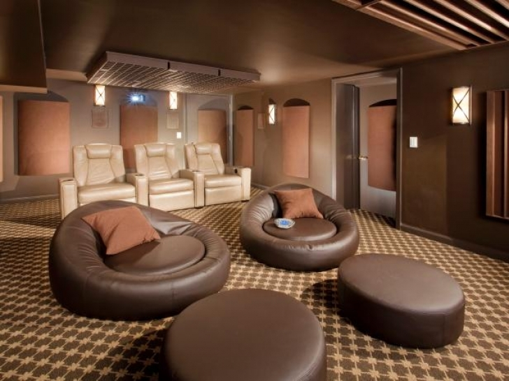 Amazing Home Theater Seating Design Ideas Within Home Remodeling Ideas Pic