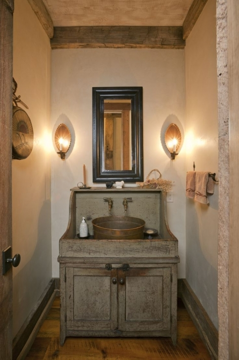 Antique Dry Sink Vanity Bathroom Furniture