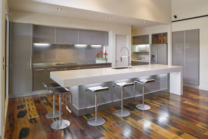Briliant Floating Kitchen Island with Seating Designs