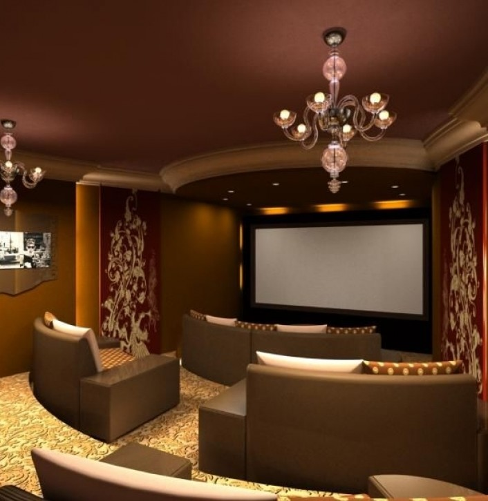 Awesome Home Theater Seating Ideas Inside Genius Decorating Ideas Images