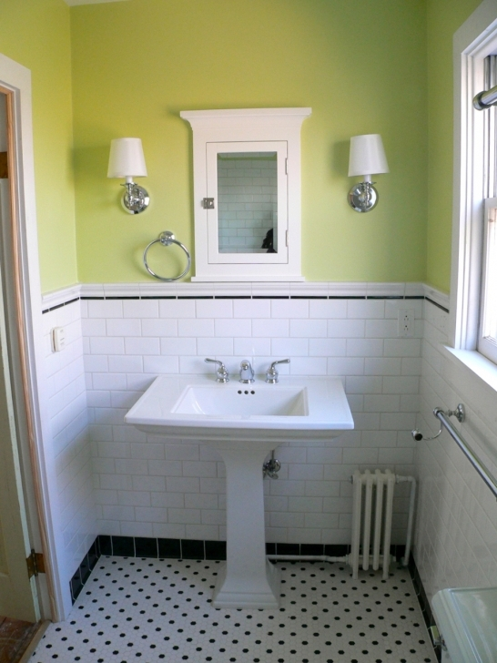 Awesome Small Bathroom Remodeling Subway Tile Throughout Bathroom Remodel On Pinterest White And Green Picture