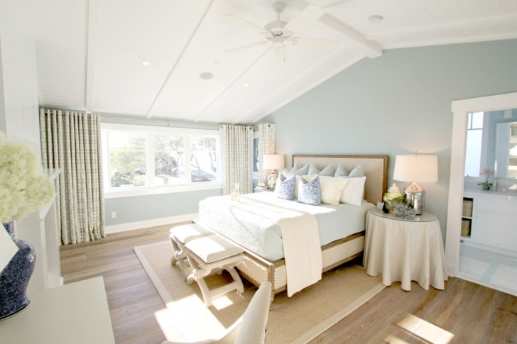 Brilliant Beach Themed Bedroom Decor With Blue Bedroom Decorating Ideas Pictures