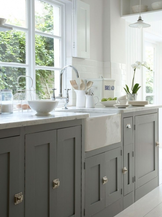 Chalk Paint Kitchen Cabinets Regarding How To Paint Kitchen Cabinets With Annie Sloan Chalk Paint Images