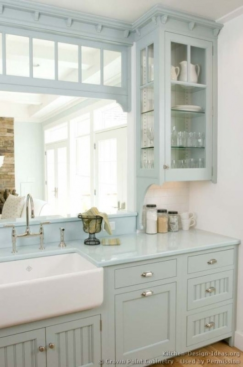 Chalk Paint Kitchen Cabinets With Regard To How To Paint Kitchen Cabinets With Annie Sloan Chalk Paint Pic