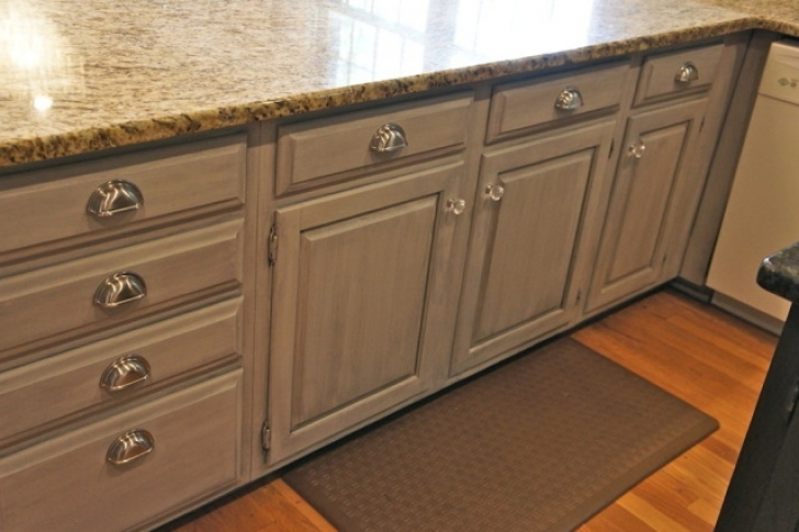 Chalk Paint Kitchen Cabinets With Regard To Painting Cabinets With Chalk Paint Pictures