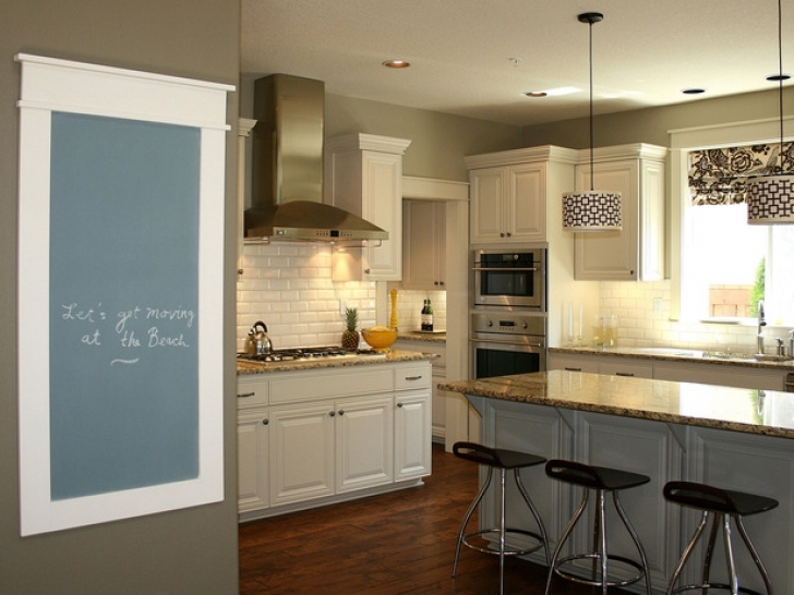 Chalk Paint Kitchen Cabinets Within How To Chalk Paint Kitchen Cabinets  Pictures