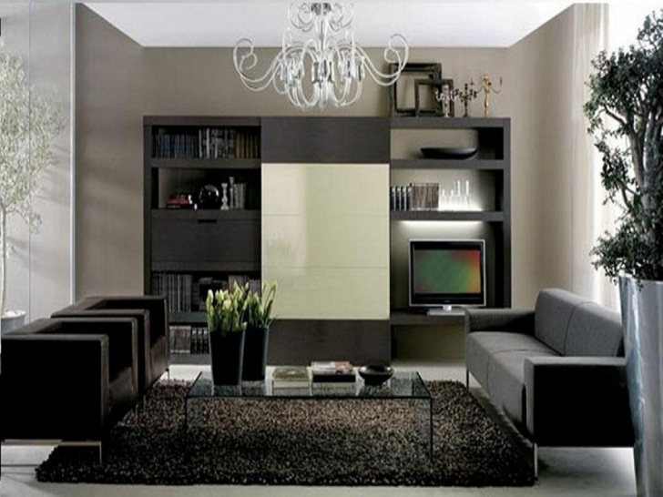 Classy Grey Color Schemes For Living Room With Regard To Simple Living Room With Dark Furniture And Hardwood Floors Images