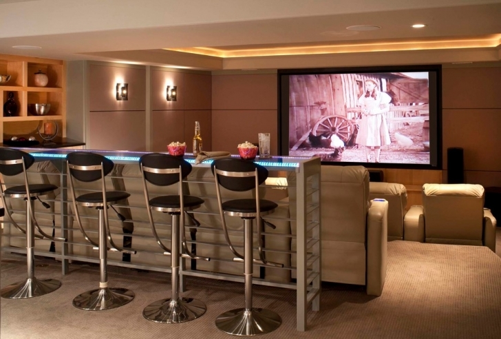 Delightful Home Theater Seating Ideas In Addition Bar Seating Ceiling Design Picture