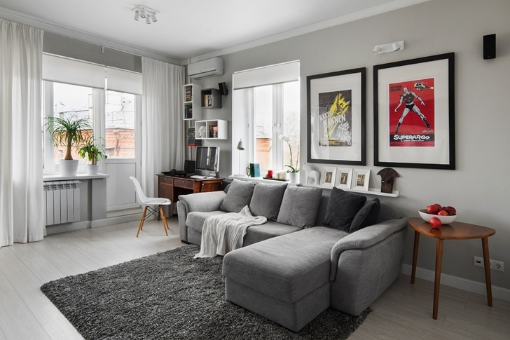 Excellent Gray Paint Color Schemes Living Room Throughout Fresh And Modern Furniture Photos
