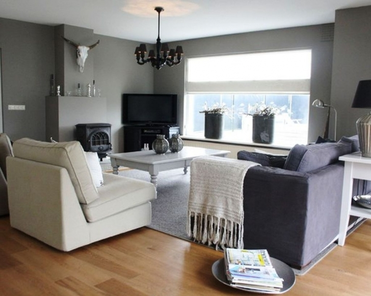 Excellent Grey Color Schemes For Living Room With Regard To Contemporary Living Room Designs And Light Hardwood Flooring Pictures