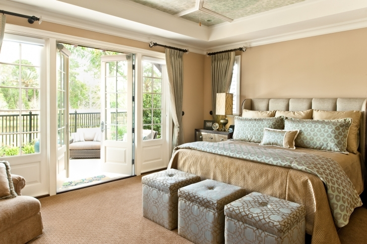 Extraordinary Small Master Bedroom Decorating Ideas Within Excellent Floor Design Image