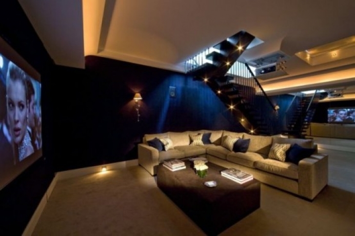 Fantastic Home Theatre Seating Ideas With Spectacular Interior Design Ideas Images