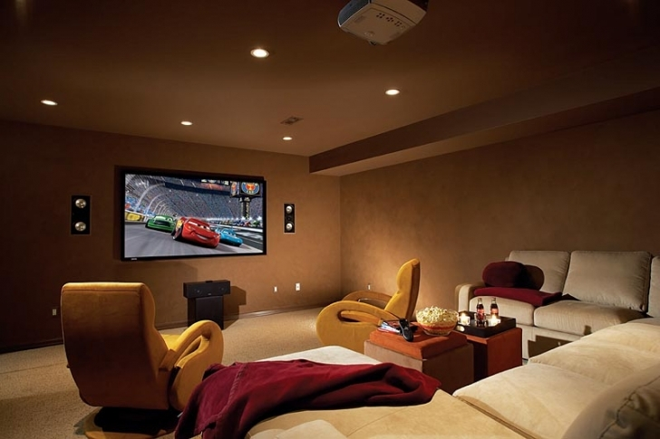 Fantastic Home Theatre Seating Ideas Within Comfortable Home Theatre Chairs Design Ideas Photos