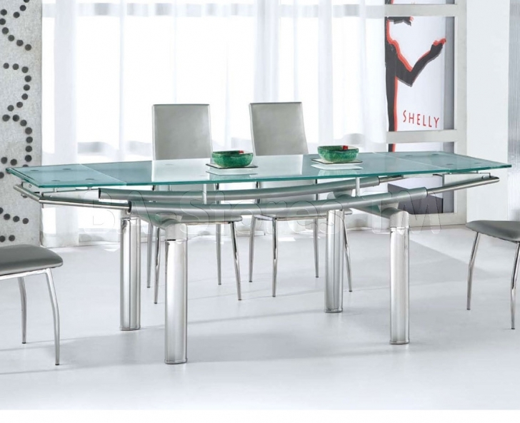 Glass Kitchen Tables For Small Spaces With Brilliant Glass Top Kitchen Tables Contemporary Design Furniture Image