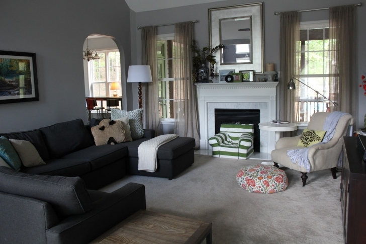 Gorgeous Sherwin Williams Paint Colors For Family Rooms Throughout Gray Paint Color Ideas Photo
