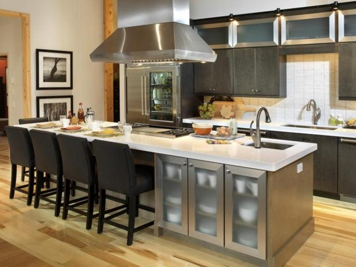 Incredible Floating Kitchen Island With Seating Inside Sink Ideas Picture