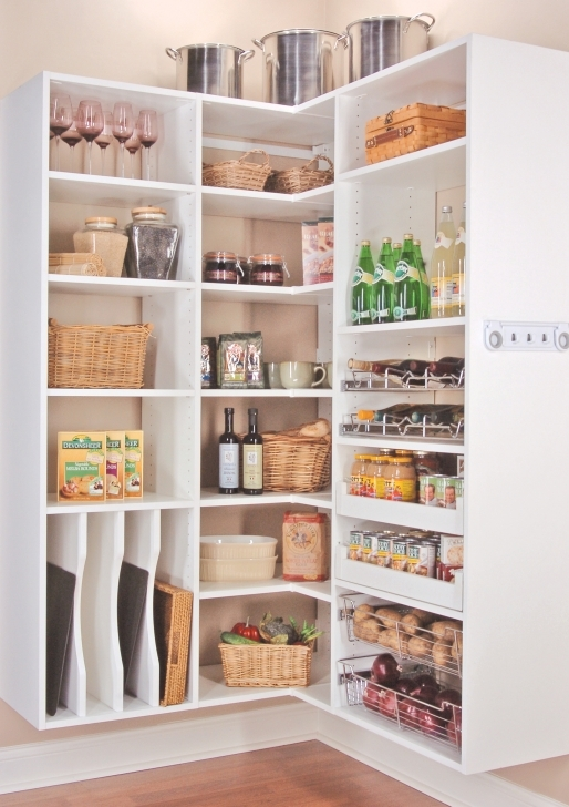Kitchen Pantry Cabinet Ideas With Organize Kitchen Pantry Systems Pictures