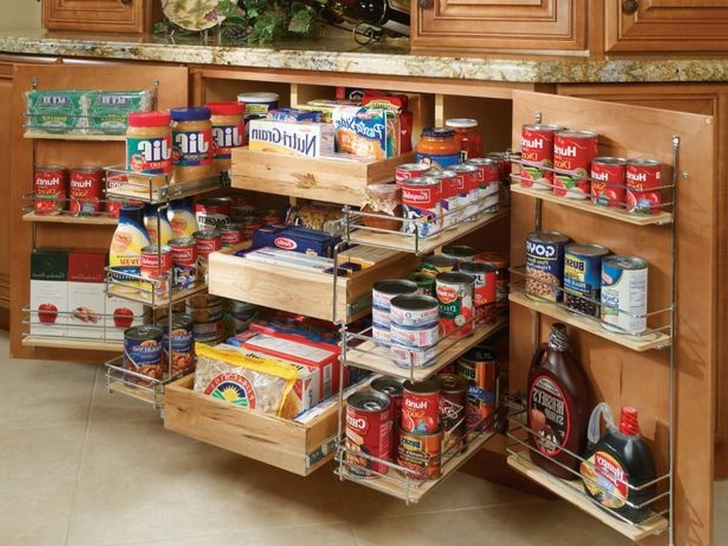 Kitchen Pantry Cabinet Ideas With Regard To Small Kitchen Pantry Cabinets Image