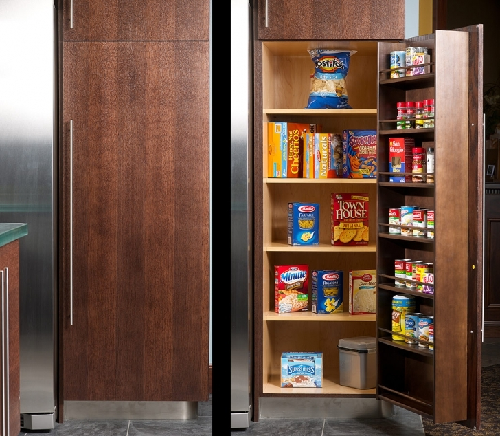 Kitchen Pantry Cabinet Ideas Within Kitchen Pantry Cabinets With Drawers Consideration Pictures