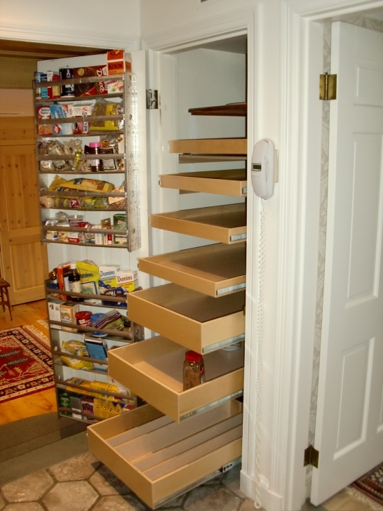 Kitchen Pantry Cabinet Ideas Within Storage Cabinet Broom Closet Images