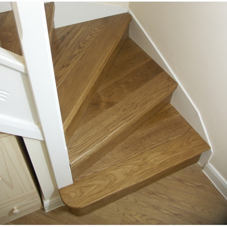 Oak Staircase Design Cladding Tread Winder Flight Kit Pictures