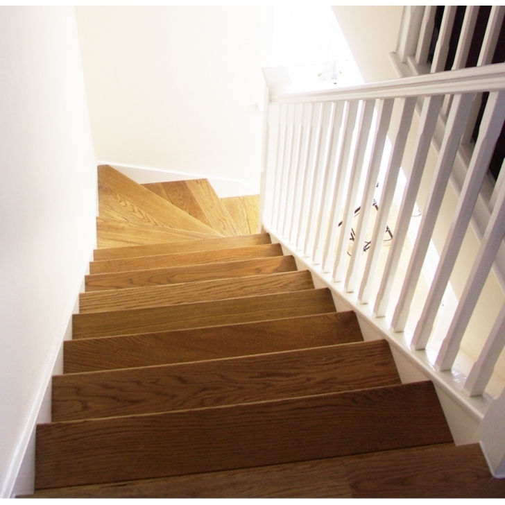 Oak Staircase Design Oak Stair Cladding Tread Straight Flight Kit Pics