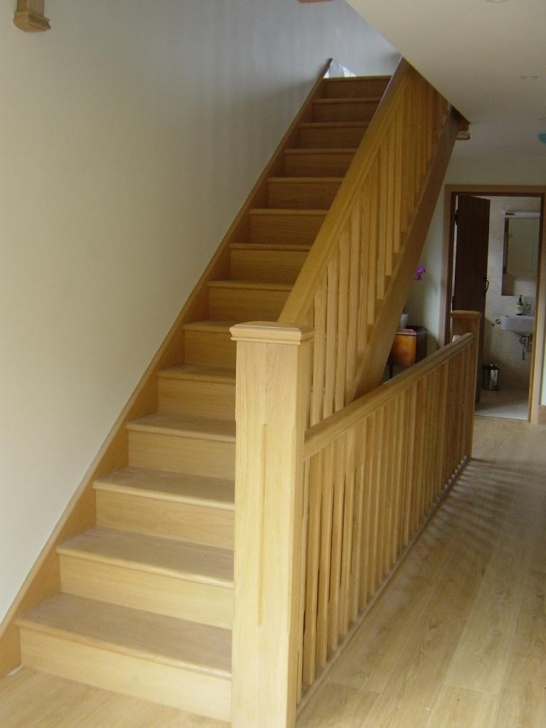 Oak Staircase Design Spindles Home Stair Design Pictures