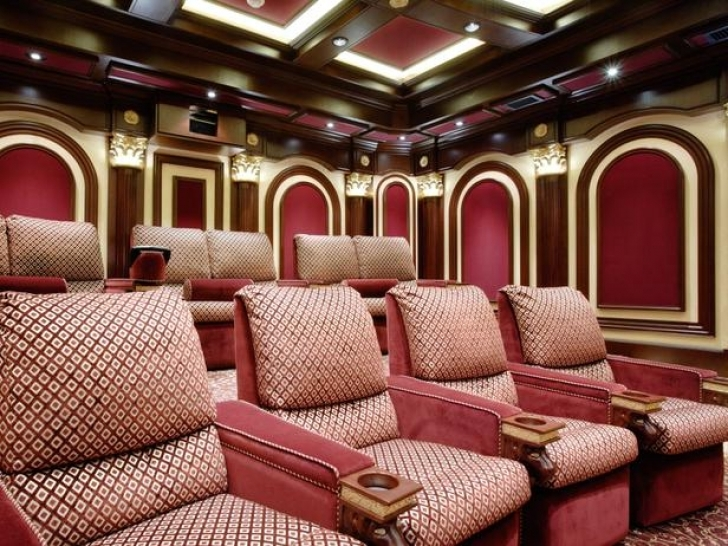 Outstanding Home Theater Seating Design Ideas In Antique Theater Seats Ron Nathan Interiors Picture