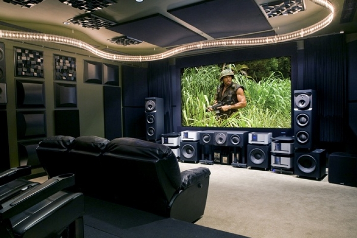Stylish Home Theatre Seating Ideas Within Great Furniture Small Room Architecture Pics