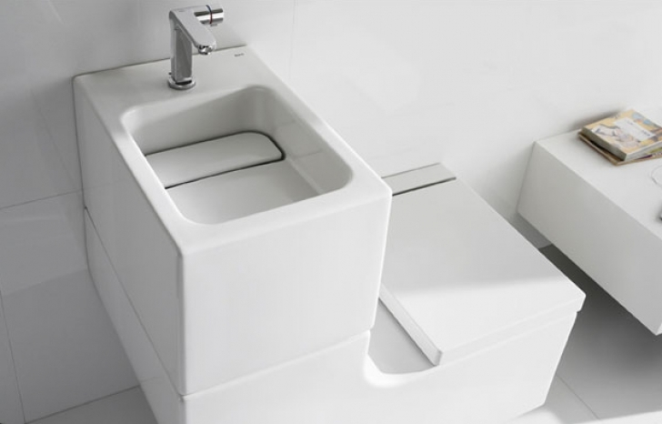 Toilet Sink Combo With Cool Design Pictures