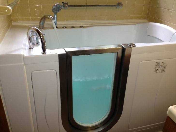Walk In Tubs And Showers Within Handicap Accessible Bathroom Remodeling Images