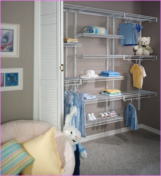 Wire Shelving Units for Closets With Metal Best Home Design Ideas Pic