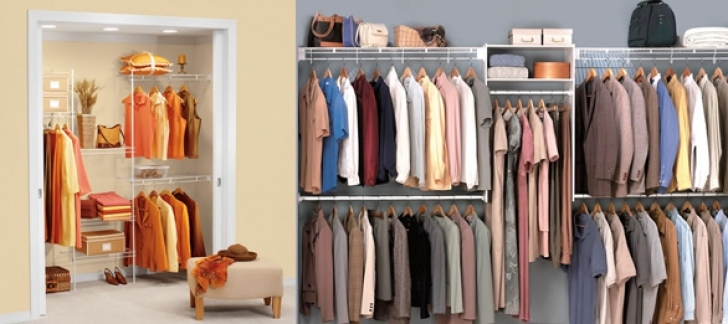 Wire Shelving Units for Closets Within Closet Shelving Systems Organization Image