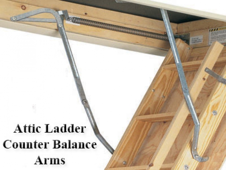 Wonderful Attic Stairs Pull Down Pole With Attic Ladder Parts And Accessories Images