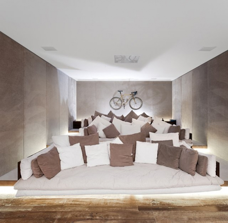 Wonderful Home Theater Seating Ideas Inside Awesome Seat Design Ideas Photos